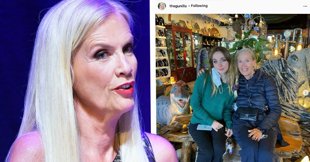 Gunilla Persson om Erikas sjukdom