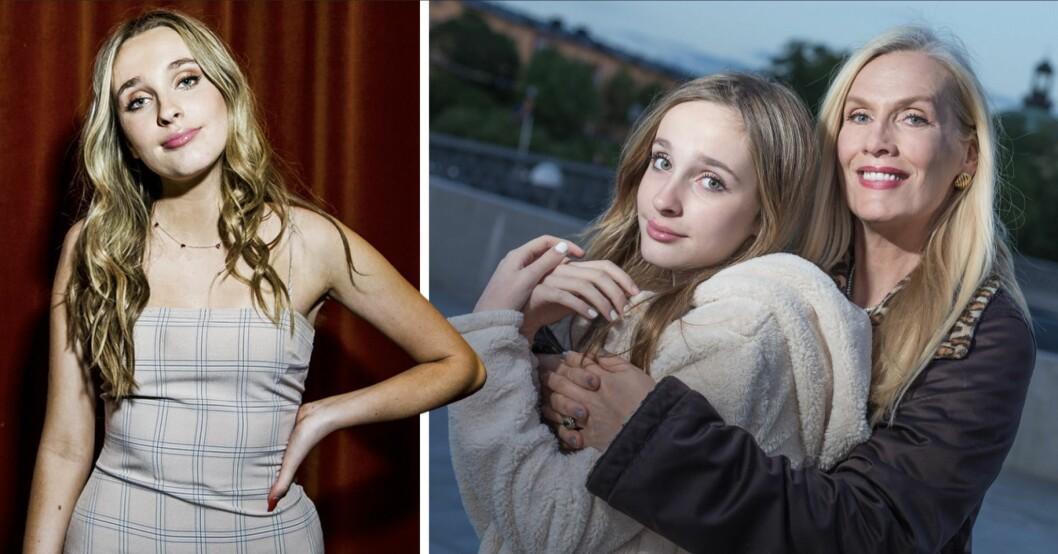 Allt du vill veta om Gunilla Perssons dotter Erika Persson