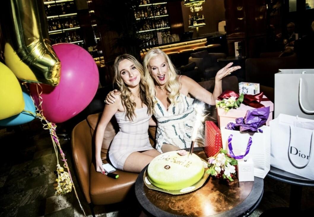 Erika Persson och Gunilla Persson firar födelsedag
