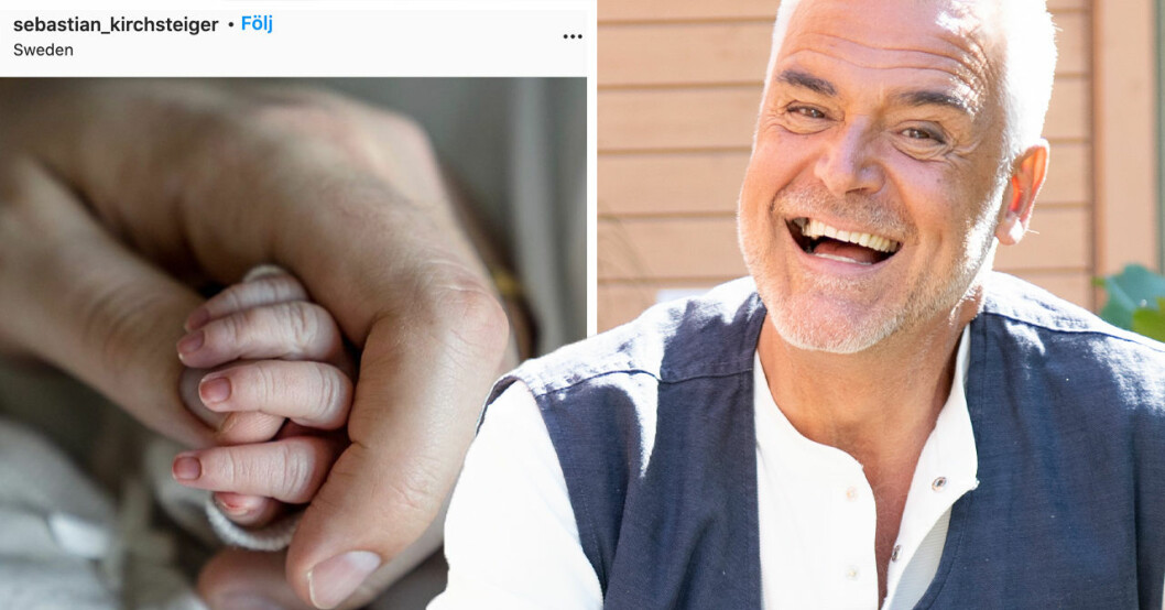 Ernst Kirchsteiger har blivit farfar
