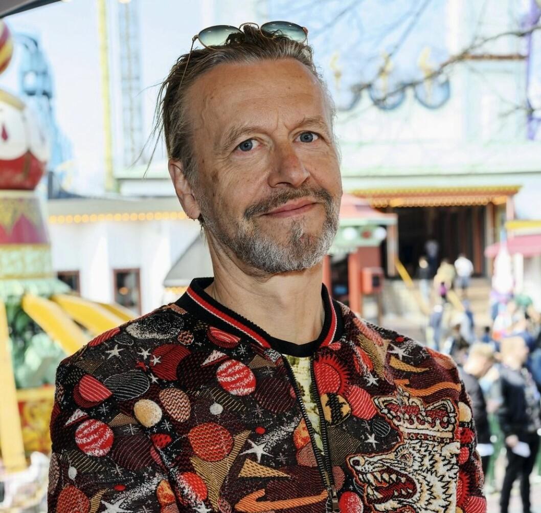Ernst Billgren på premiär för Gröna lund 2019.