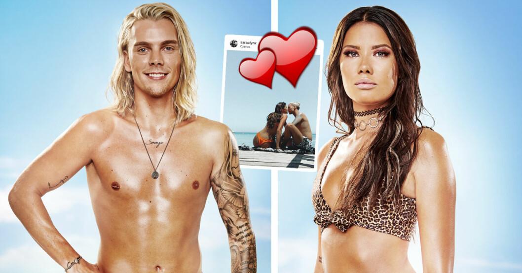 Ex on the beach-Sara Gustafsson om varför hon och Pontus Brodin höll förhållandet hemligt.