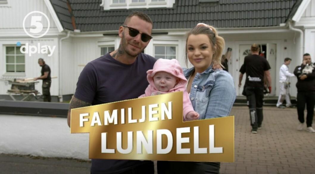 Familjen Lundell med Joakim Lundell och Jonna Lundell