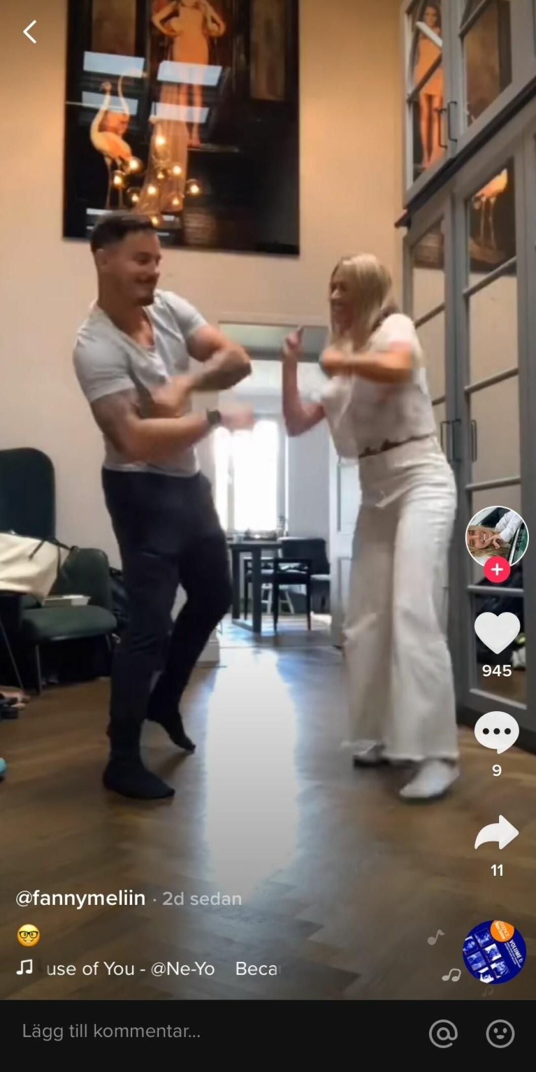 Fanny Melin och Simon Sköld