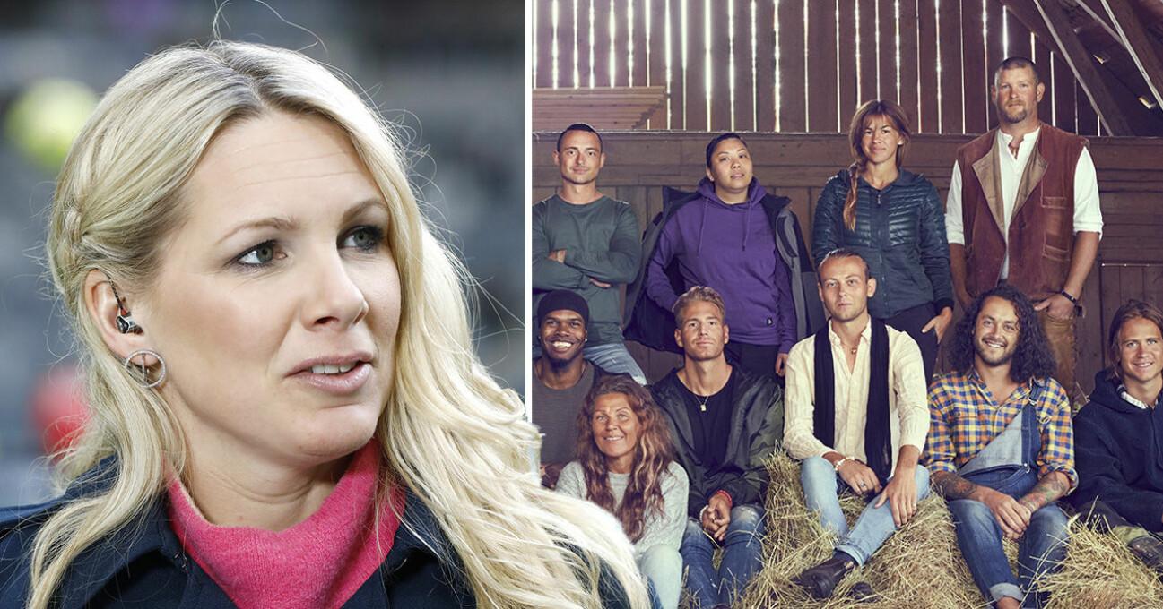Anna Brolin och Farmen 2021