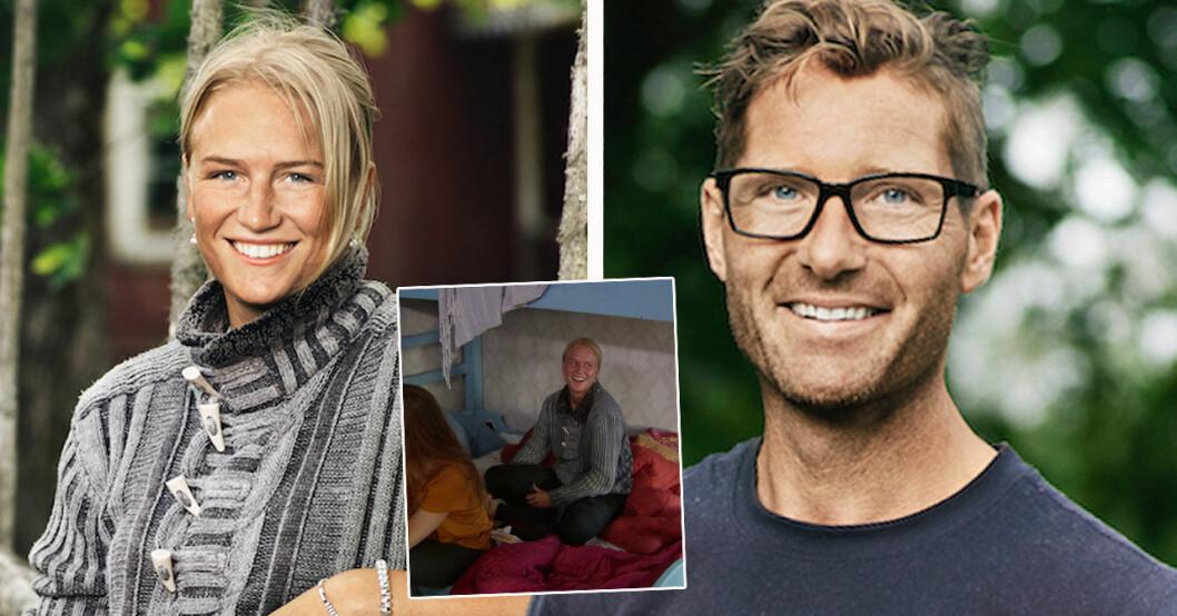 Esmeralda Gyllensvärd och Peter Bysell om relationen i Farmen