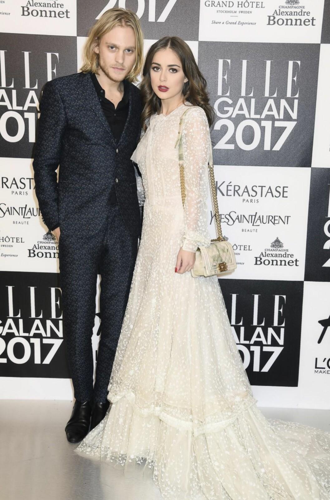 David Larson och Félice Jankell på ELLE-galan 2017