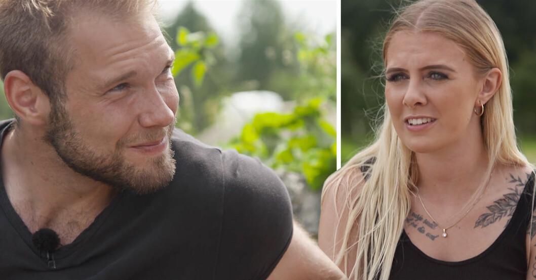 Erik Parai Arnesson och Felizia Andersson.