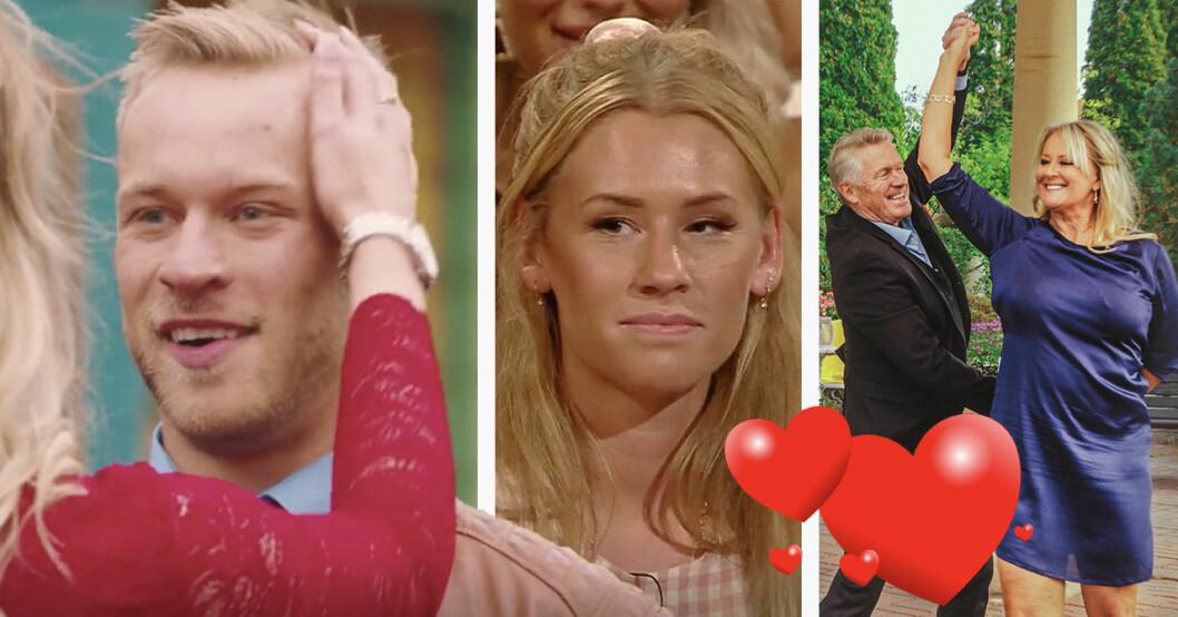 Flirty dancing-Pontus Bäck och Bachelor-Hannah Forsdahl