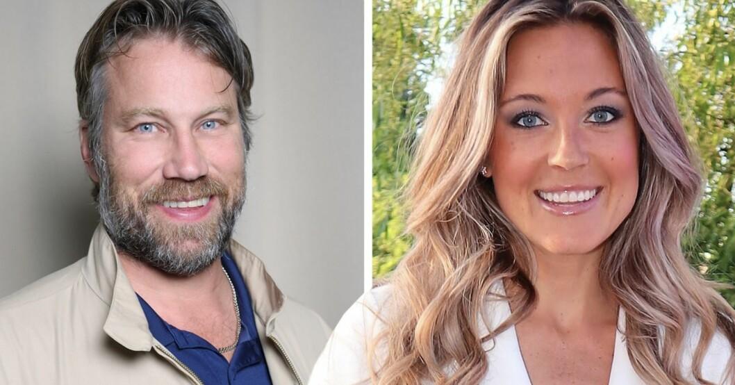 Peter Forsberg & Nicole Nordin