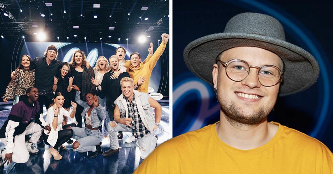 Freddie Liljegren om att kombinera Idol med pappalivet