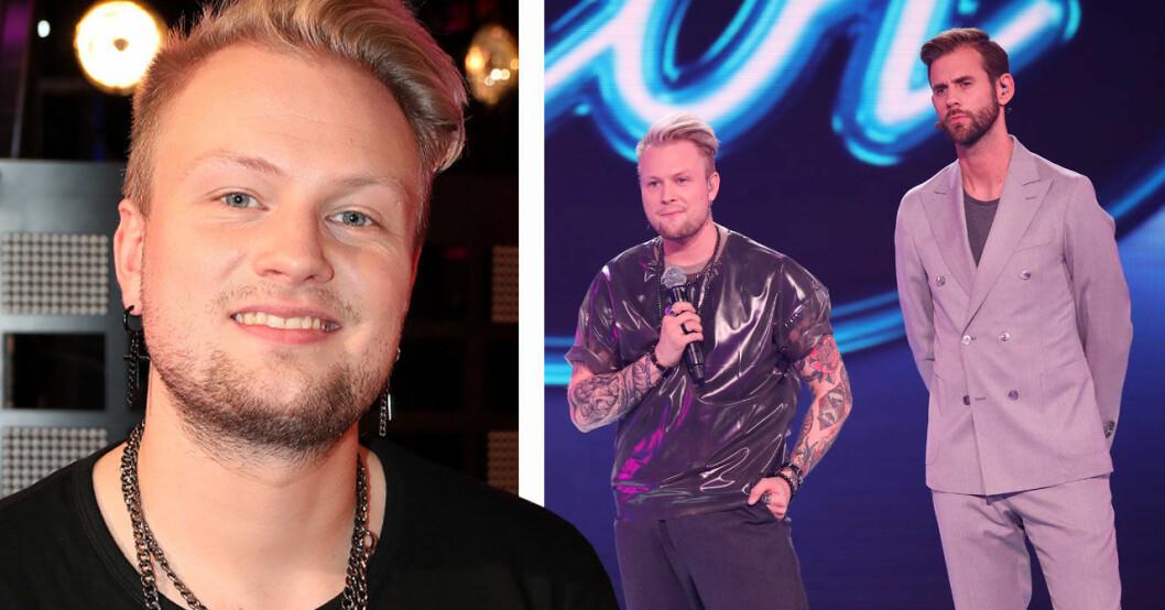 Freddie Liljegren om familjen i Idol-kulisserna