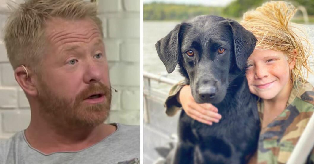 Fredrik Steen, hundcoachen.