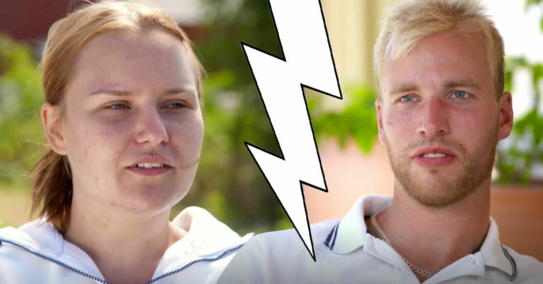 Simon Ohlsson berättar om relationen med Frida efter sveket i Bonde söker fru.
