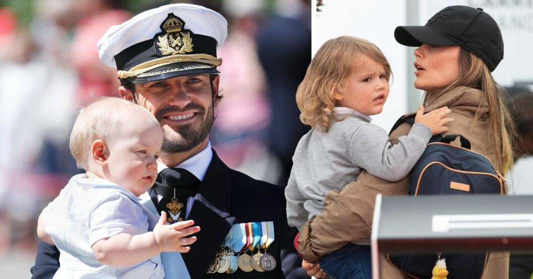 Avslöjandet: Så olika är prins Alexander och prins Gabriel