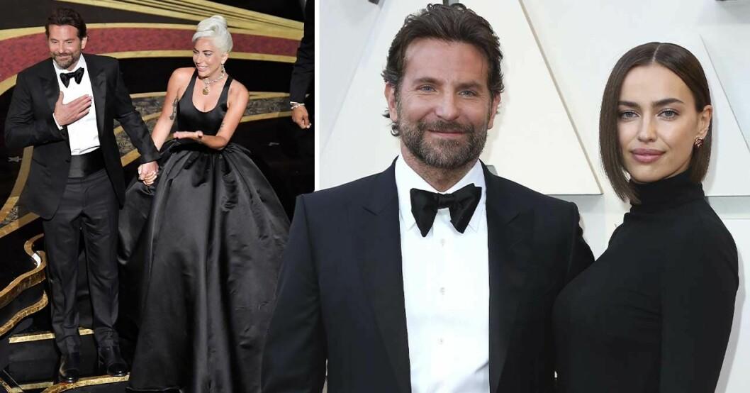 Lady Gaga Bradley Cooper på Oscarsgalan