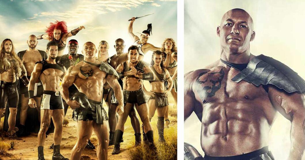 TV4:s besked om Gladiatorerna