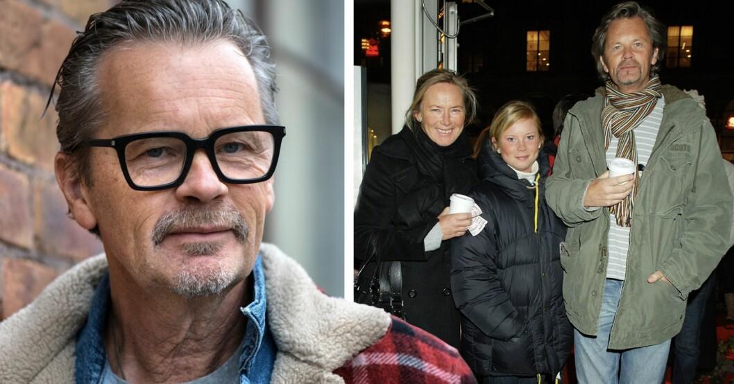 Anders Glenmark med fru Birgitta och dottern Julia