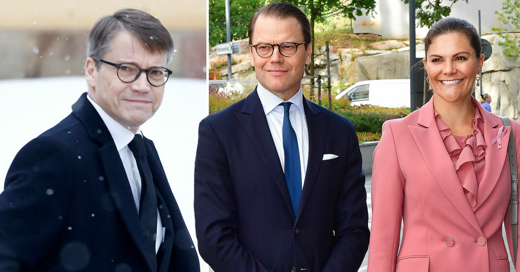 Göran Hägglund, Prins Daniel och Kronprinsessan Victoria