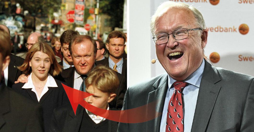 Göran Perssons döttrar har vuxit upp.