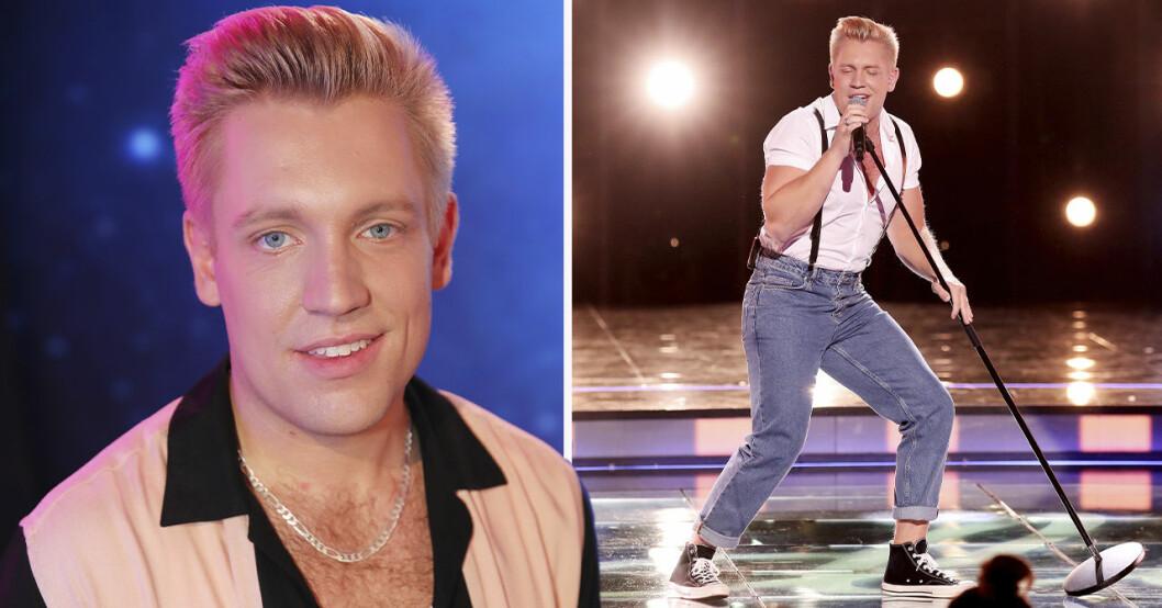 Gottfrid Krantz i profilbild på Idol