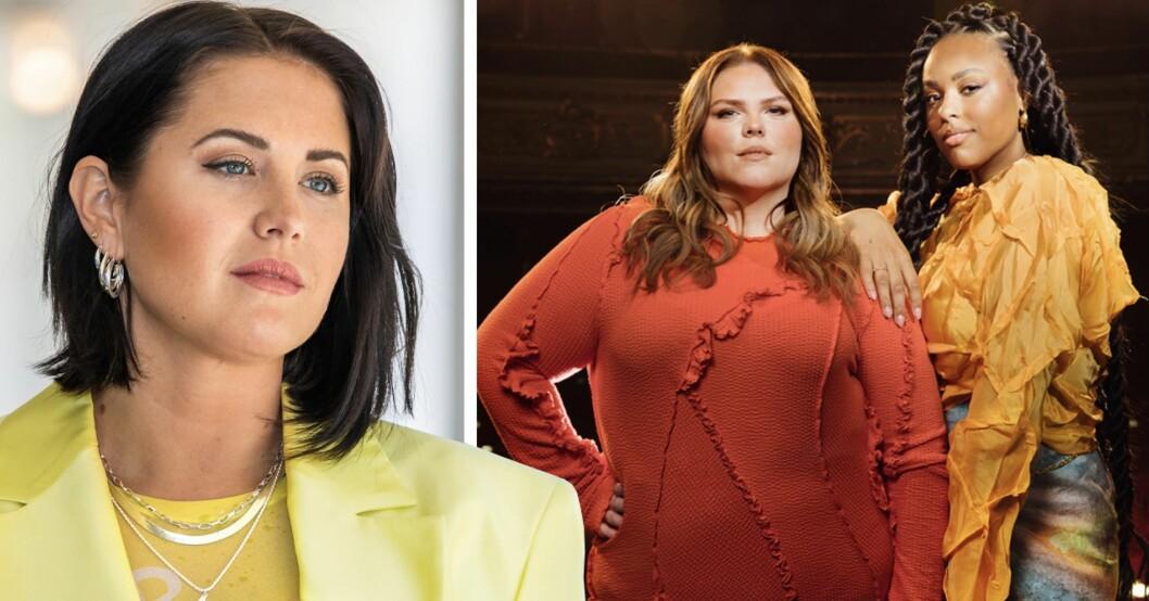 Molly Sandén och Johanna Nordström i Grammis 2021