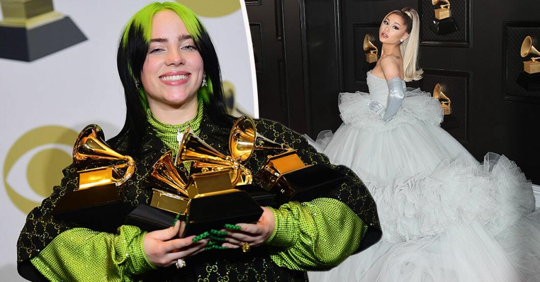 Det bar kändisarna på Grammy awards 2020.