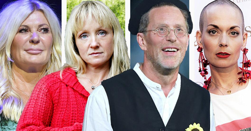 Maria Montazami, Sanna Bråding, Gustav Mandelmann och Susanne Brännemo har alla varit inblandade i grannfejder.