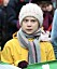 Greta Thunberg i gul regnjacka