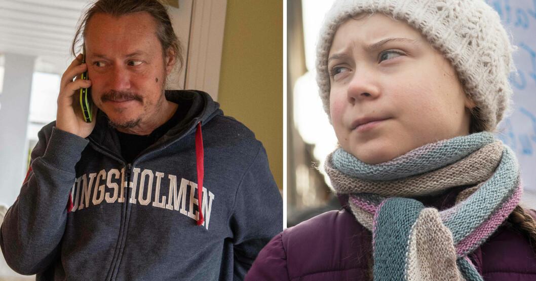 Greta Thunbergs pappa Svante
