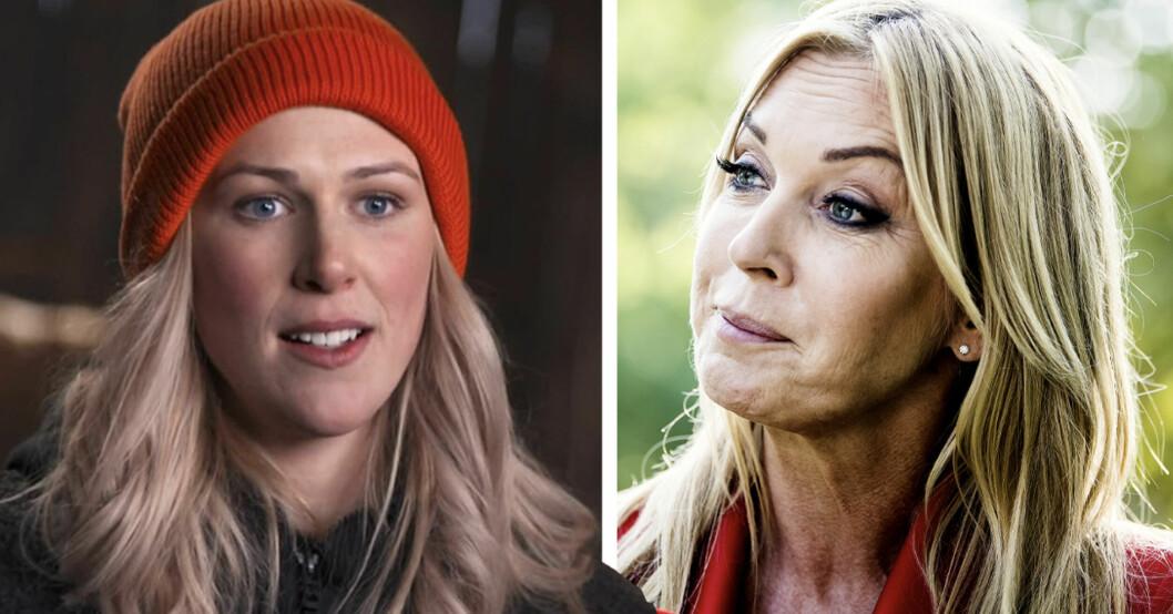 Greta Berglund och Linda Lindorff i Bonde söker fru 2021