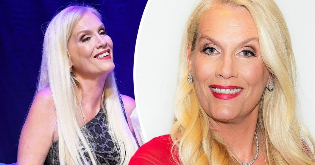 Gunilla Persson om kärlekslivet