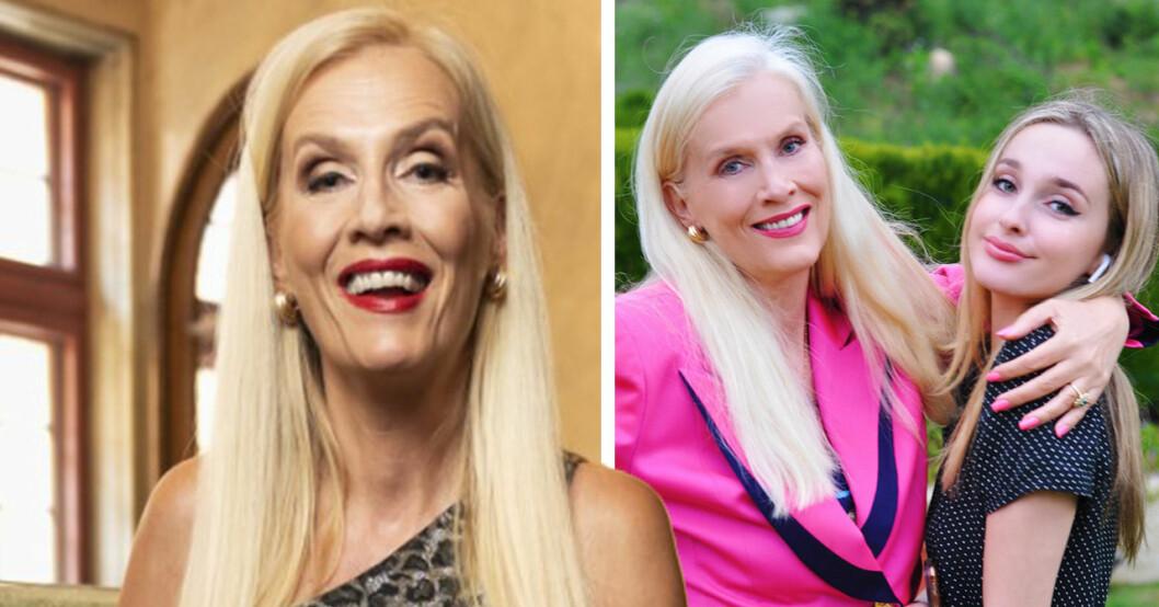 Gunilla Perssons ändring för dottern Erika – efter hatstormen