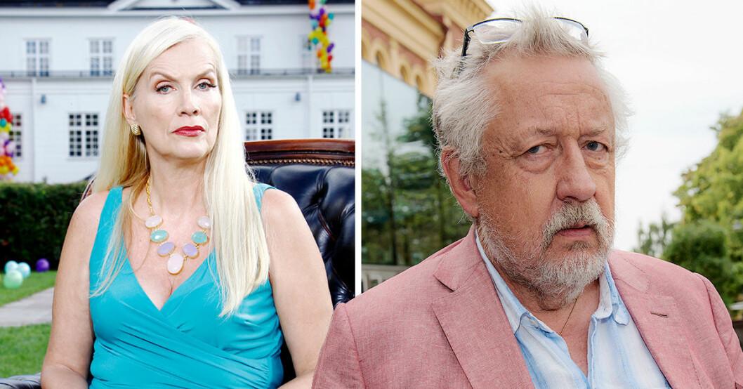 Gunilla Persson och Leif GW Persson i bråk efter orden i TV4