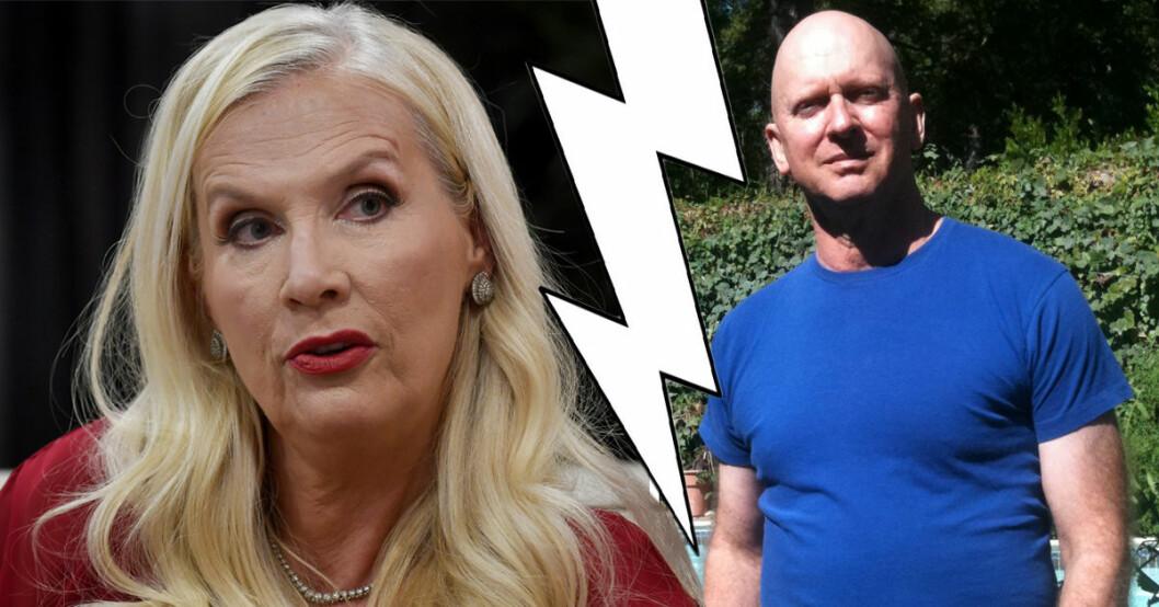 Gunilla Persson tar nu bladet från munnen och kommenterar exmaken Stephen Linvilles ord om henne.