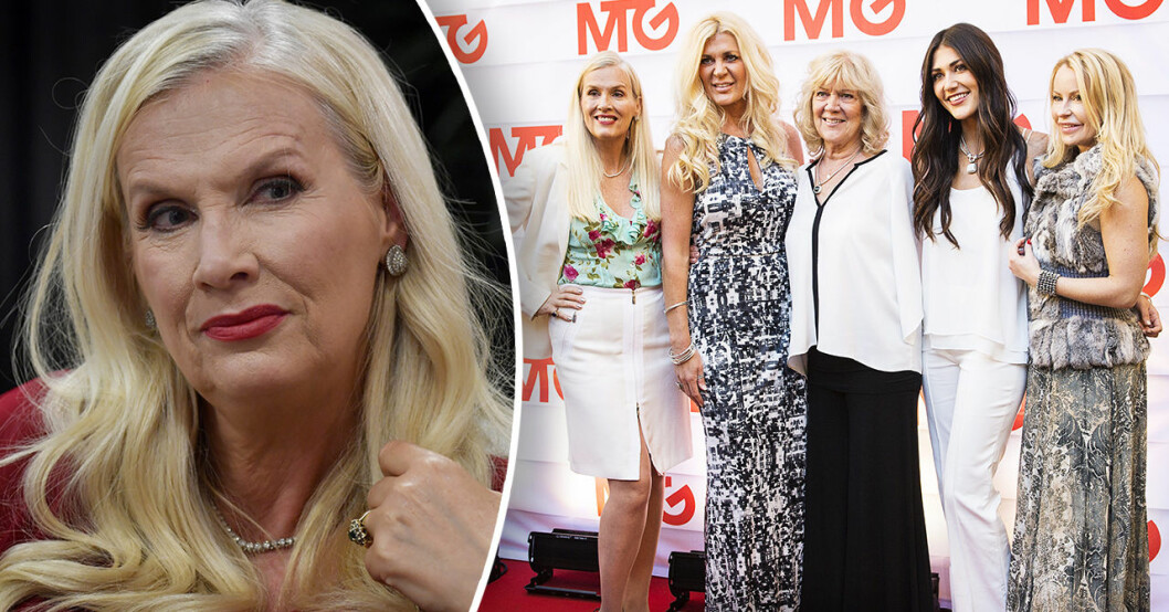 Gunilla Persson om Svenska hollywoodfruar på TV3