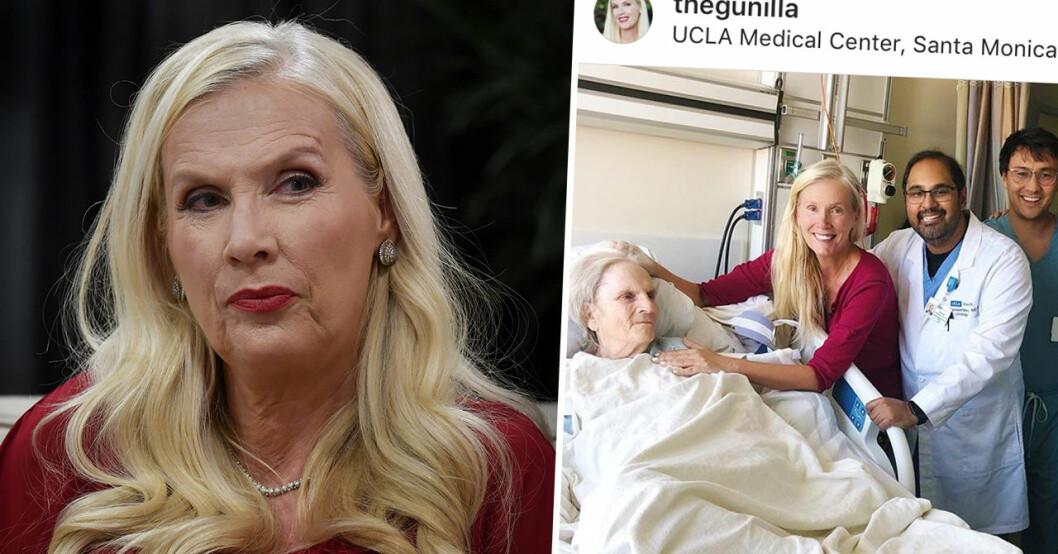 Gunilla Persson om Svenska Hollywoodfruar