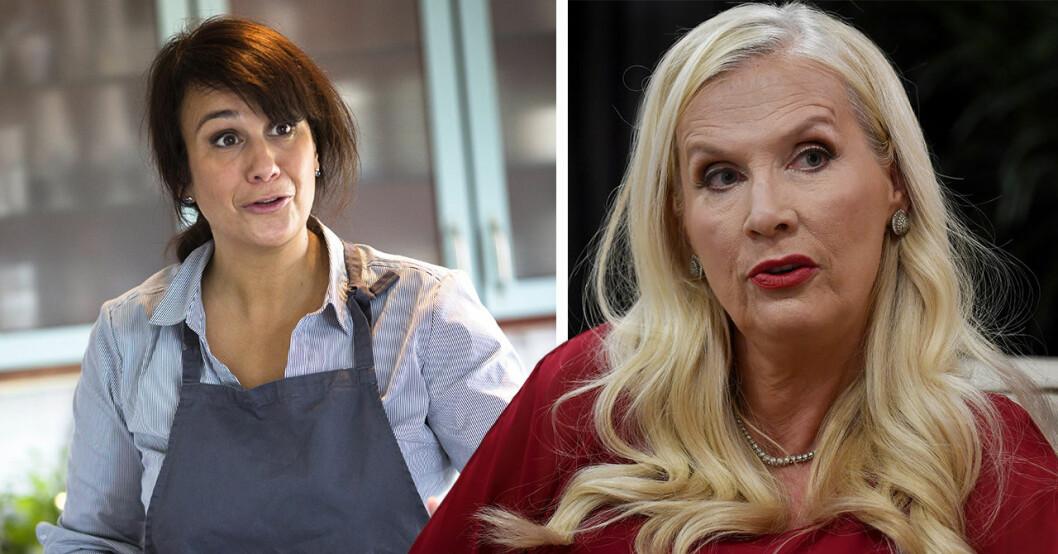 Gunilla Persson och Alexandra Zazzi i storbråk efter Biggest loser vip