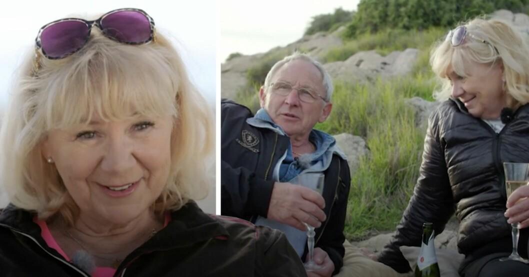 Gunilla avslöjar kärlekslyckan – efter Leifs svek i Bonde söker fru