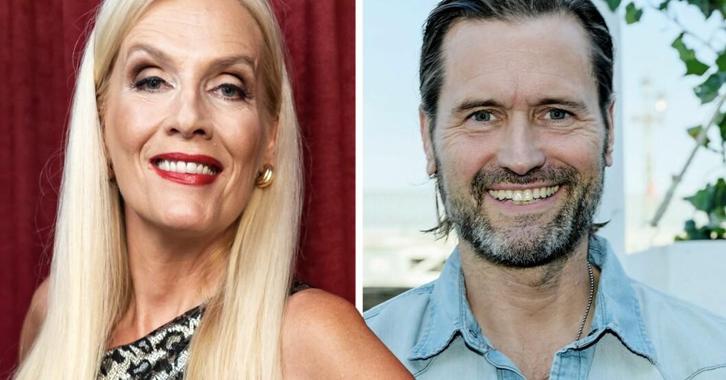 Gunilla Perssons flirtiga hälsning till Martin Melin – efter avslöjandet om relationen