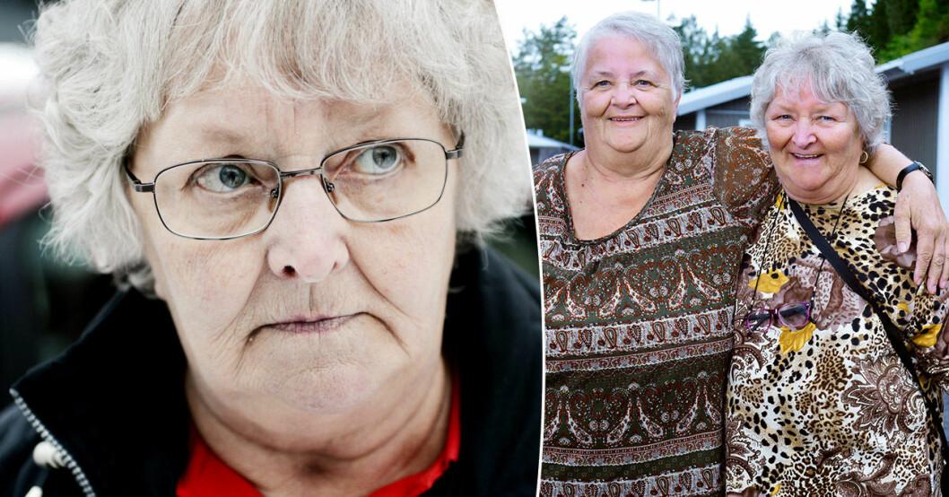 Gunnel Hyvönen och Maritta Söderström.