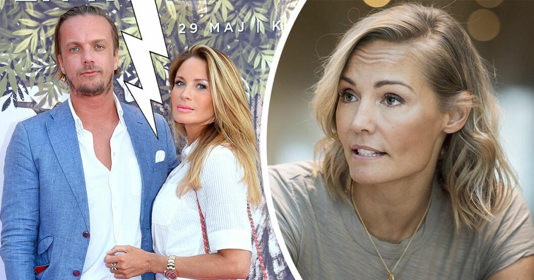 Carina Bergs stöd till Carolina Gynning – efter plötsliga uppbrottet