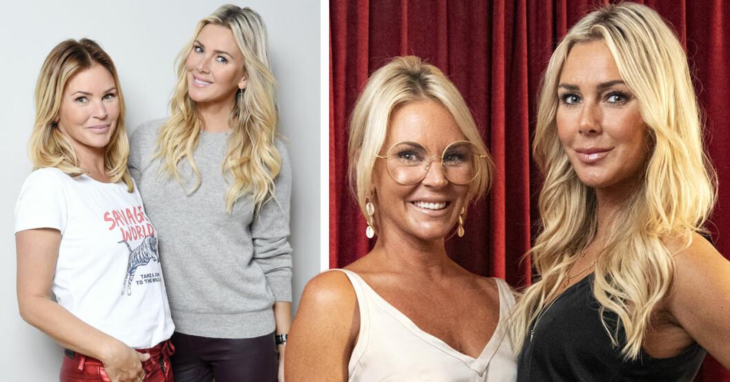Magdalena Graaf och Hannah Graafs mamma avslöjar systrarnas riktiga namn.