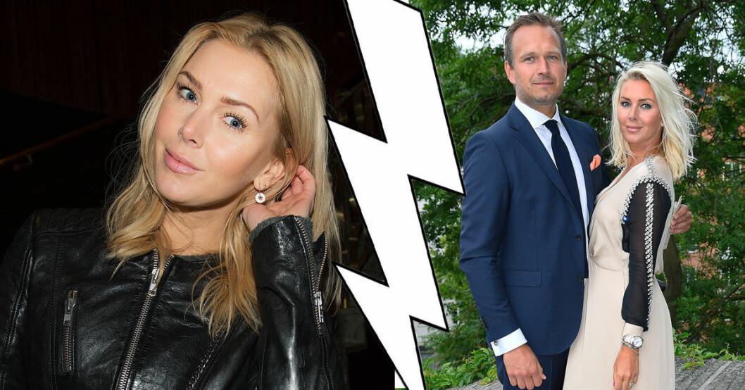 Hanna Graaf om boendet efter skilsmässan från Peter Karyd.