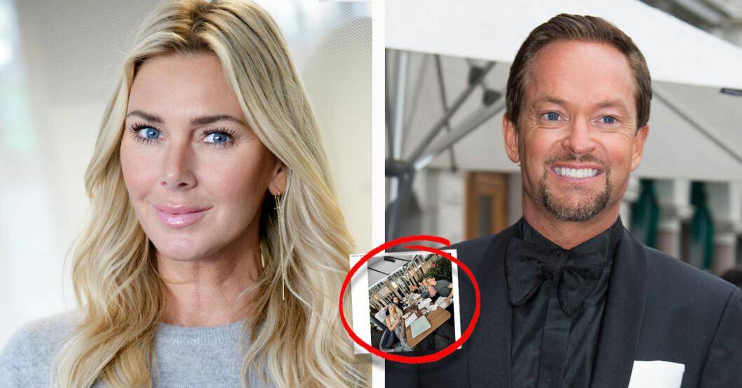 Hannah Graaf och Andreas Carlssons första möte på tio år