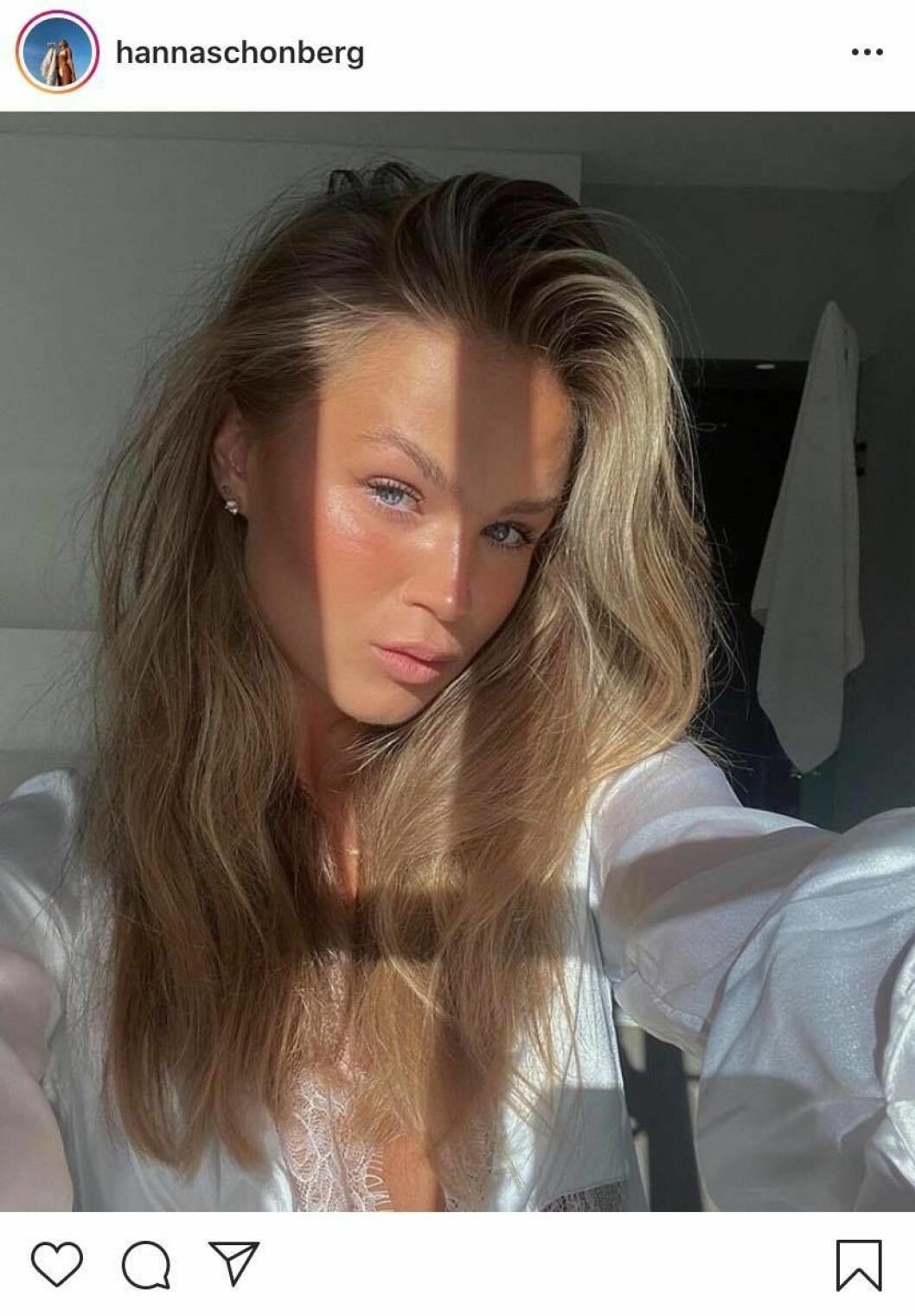 Hanna Schönberg på Instagram