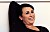 Hannah Widell i svart tröja