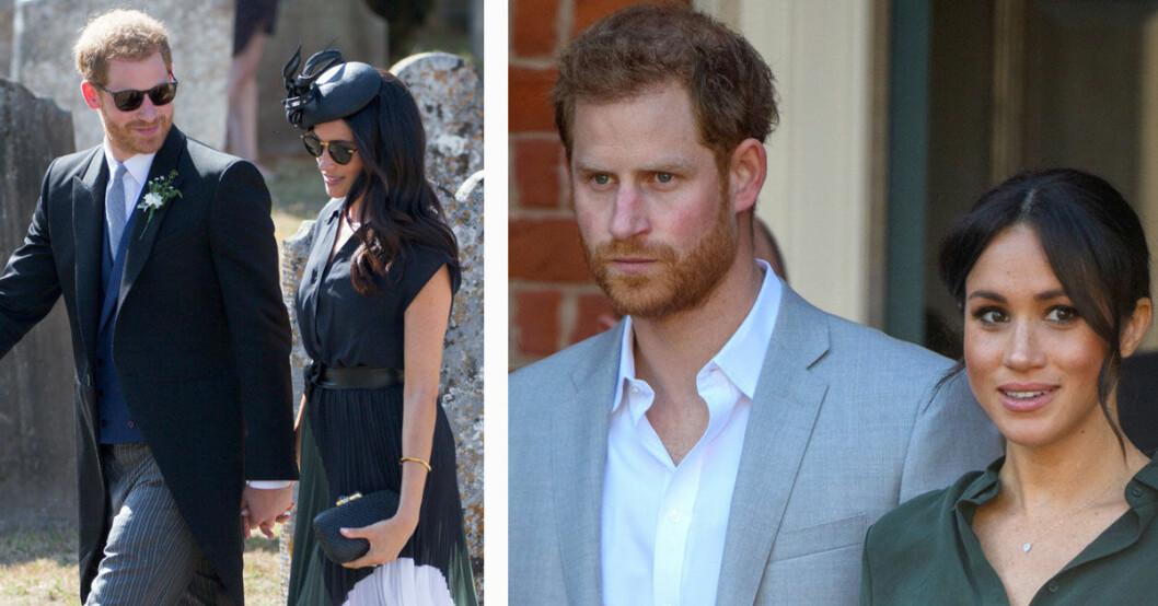 Prins Harry och Meghan Markles plan träffad av blixten