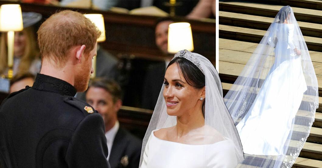 Prins Harrys ord till Meghan framme vid altaret