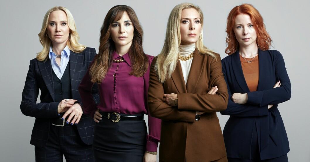 Julia Dufvenius, Anja Lundqvist, Alexandra Rapaport och Eva Röse.